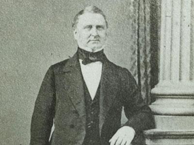 Sir Redmond Barry, 1860