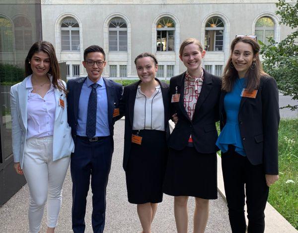 JD students in Geneva