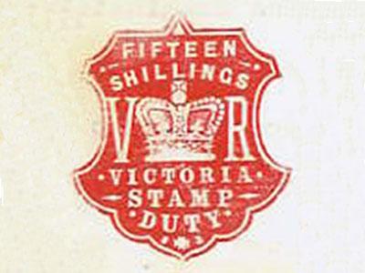 Victorian State Stamp Duty Mark