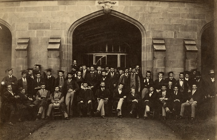 Law School Staff and Students in 1876