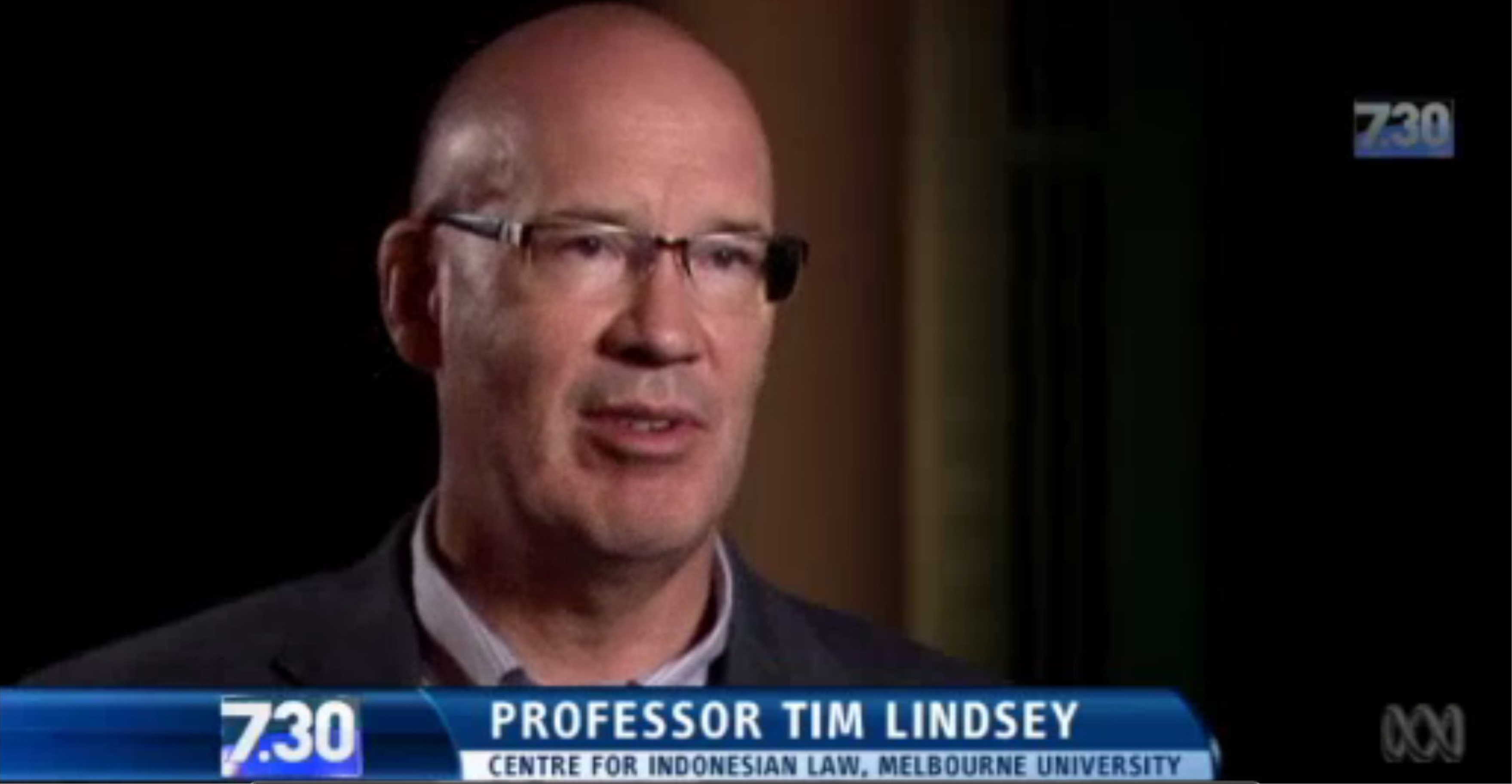 ABC 730 Prof Tim Lindsey 5 Jan 17