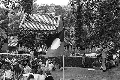 Land rights march, 26th January 1976
