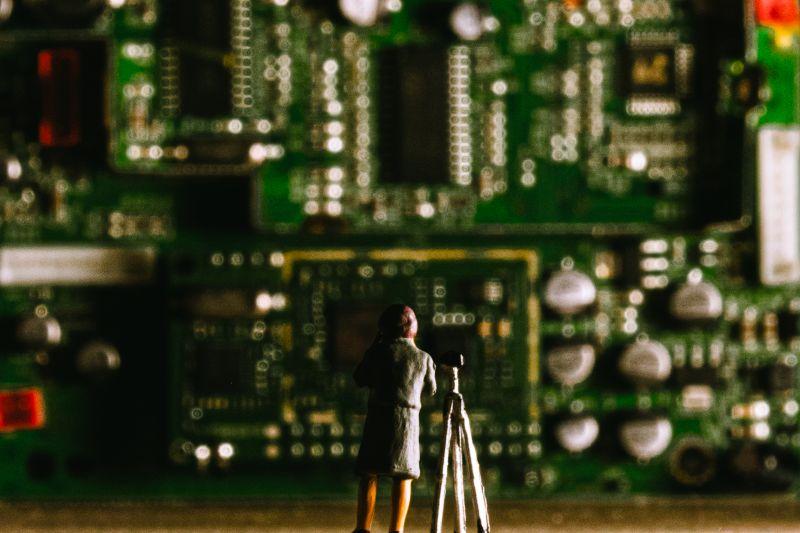 Man & switchboard