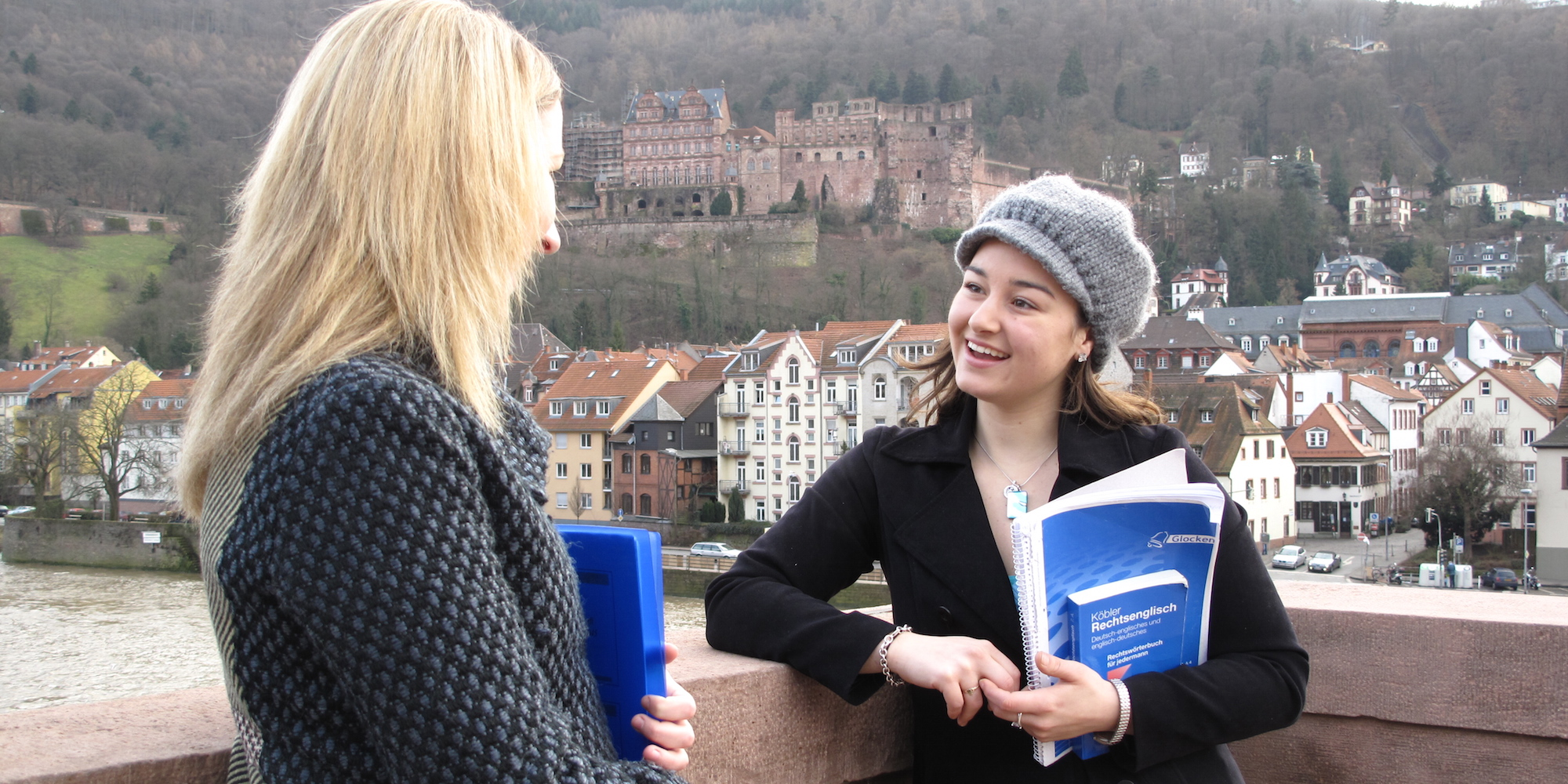 Courtney Ford at Rupert Charles University of Heidelberg