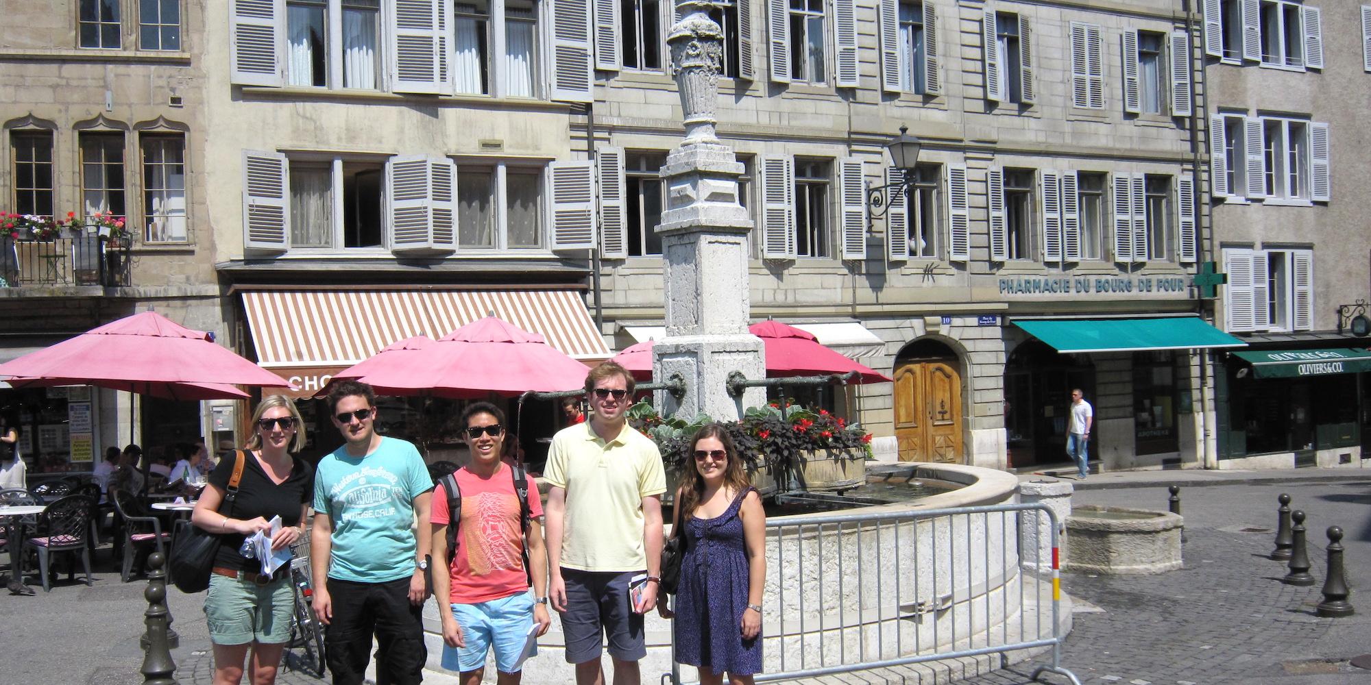 Students in Geneva