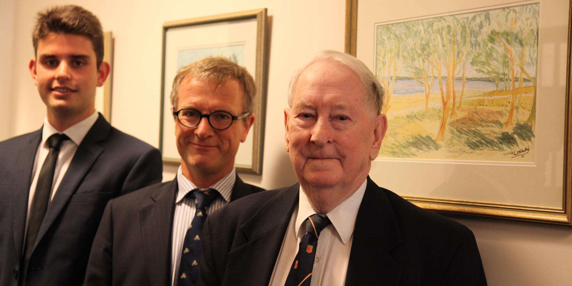 Gerard Twomey, His Hon Judge Gerard Mullaly and His Hon Paul Mullaly