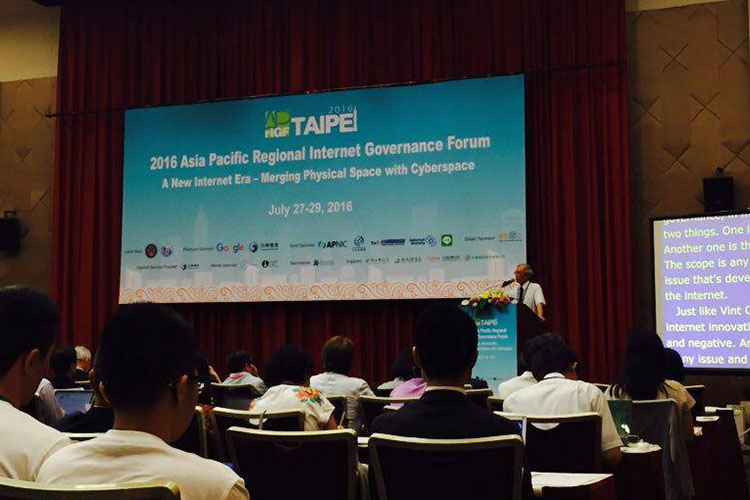 Image from - 2016 Asia Pacific Regional Internet Governance Forum