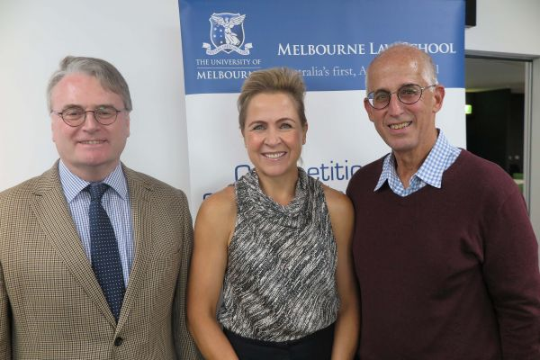 Prof Mark Williams, Prof Caron Beaton-Wells and Prof Michael Jacobs