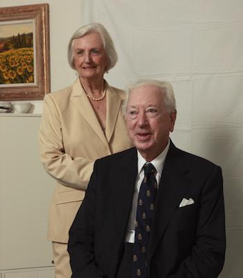 Dr John Kearney AM QC and Mrs Alison Kearney
