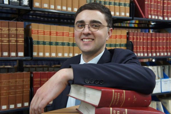 Melbourne Law Masters student Rami Marginean