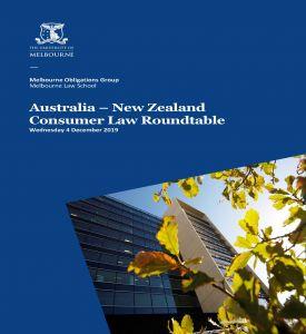 Image for Australia-New Zealand Consumer Law Roundtable