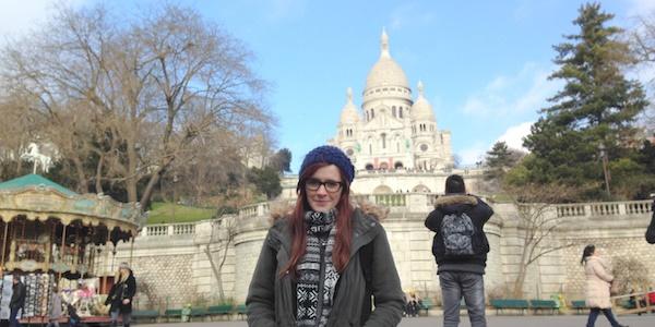 Sacre Coeur, Paris, France.