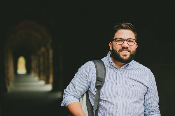 Final year JD student Matthew Acciarito
