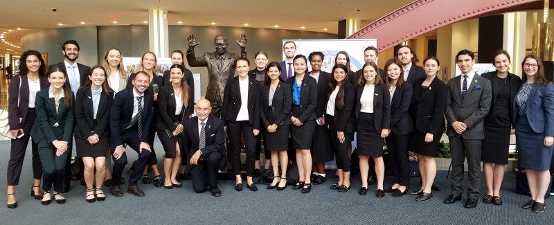 Global Lawyer 2019 students