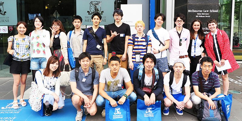 Chuo Law School students