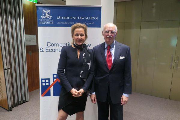 Prof Caron Beaton-Wells and Judge Douglas Ginsburg
