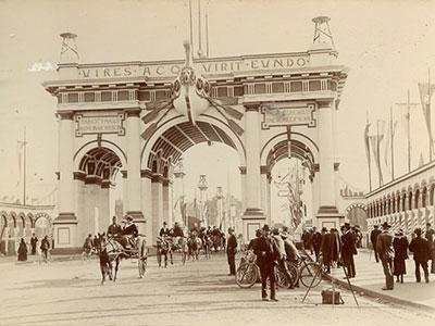 Federation Celibratory Arch, Melbourne, 1901.