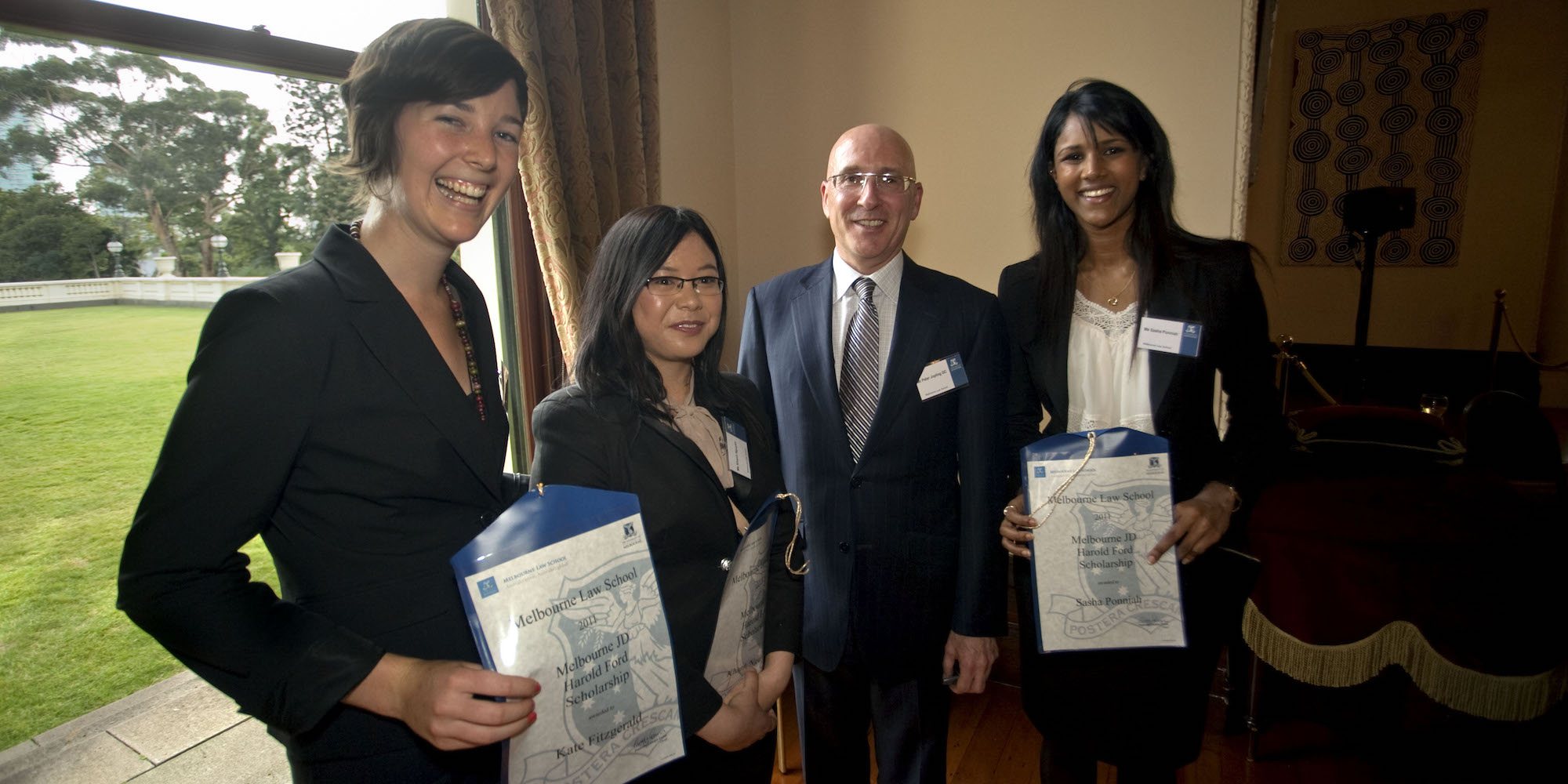 Mr Peter Jopling QC with Ms Kate Fitzgerald, Ms Khanh Nguyen and Ms Sasha Ponniah