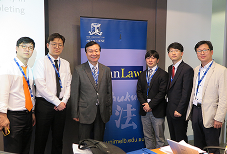 Greetings from japan and korea program 2015 melbourne law school some milestones other highlights m4hsunfo