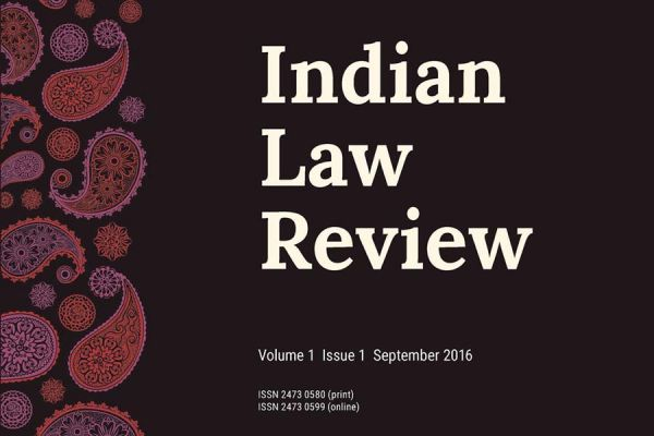 Indian Law Review