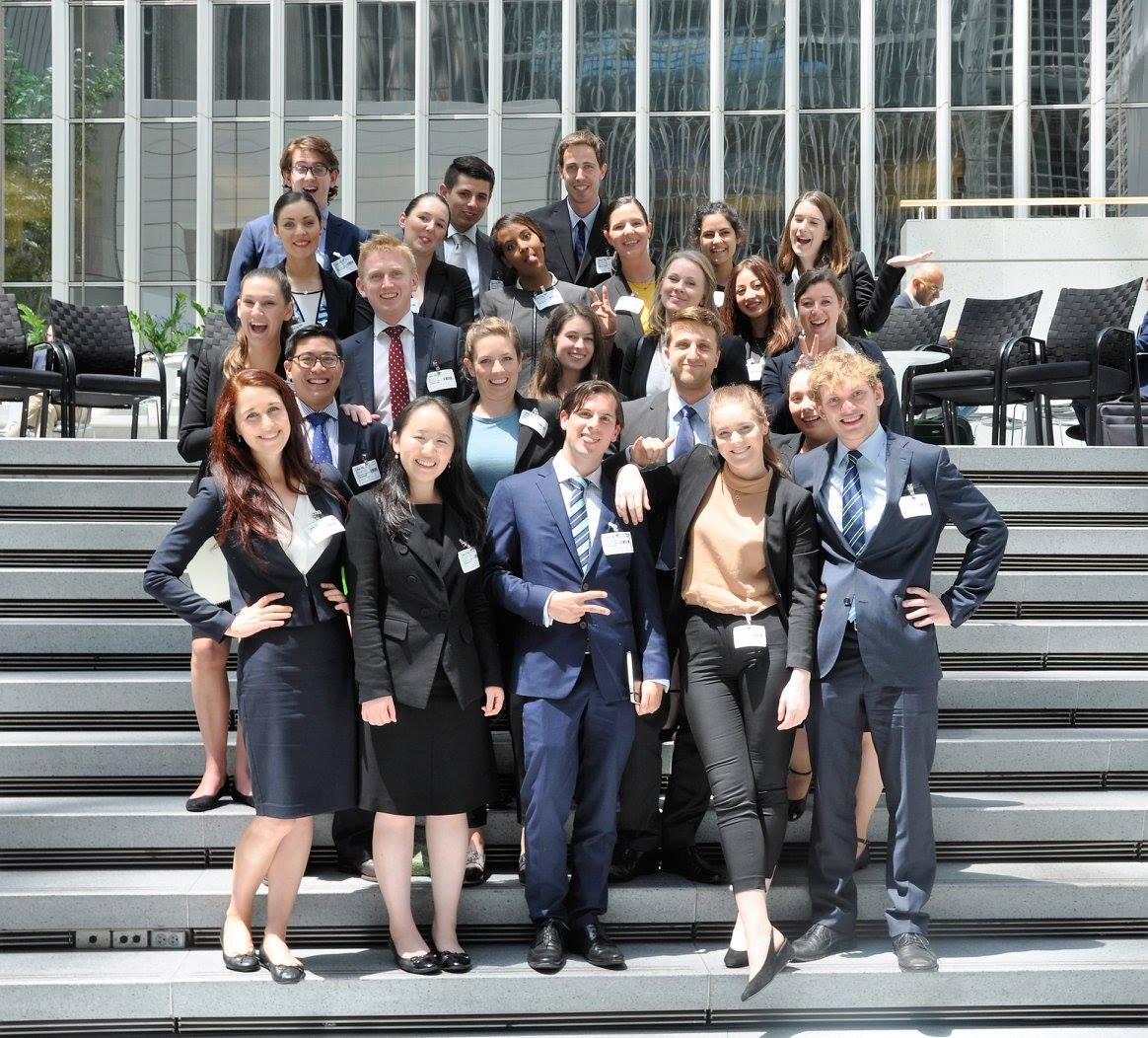 2016 Global Lawyer cohort at the World Bank