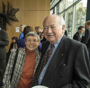 Prof Maureen Brunt and Prof Bob Baxt