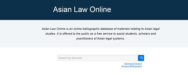 Engagement Asian Law Online
