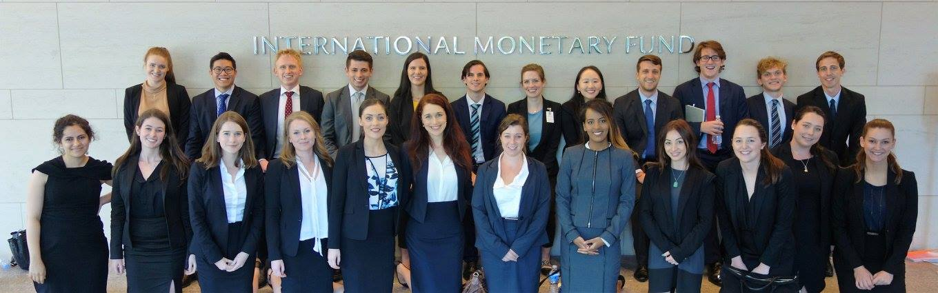 2016 Global Lawyer Cohort at the IMF