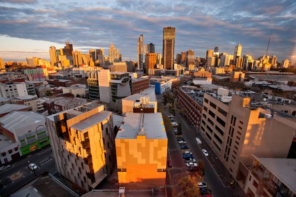 Melbourne view from MLS